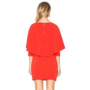 Alice+Olivia  Cairo cape-back mini dress ❣️